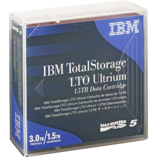 IBM 46X1290 LTO-5 Backup Tape Cartridge (1.5TB/3.0TB) Retail Pack