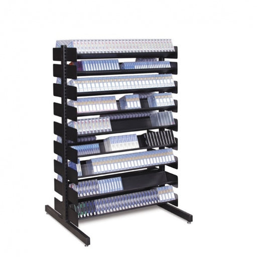 "54""H, LTO Double sided Multimedia Rack"