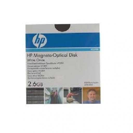 "Hp 2.6GB WORM 5.25"" 4X Magneto Optical Disk"