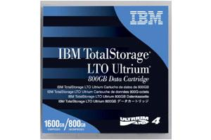 IBM 95P4436 LTO-4 Backup Tape Cartridge (800GB/1.6TB) Retail Pack