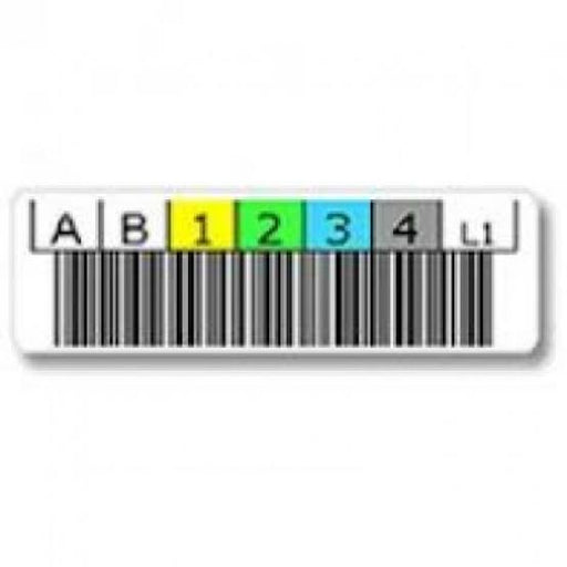 LTO Ultrium-1,2,3,4,5,6,7 and Cleaning Barcode Labels (20 Per Sheet)