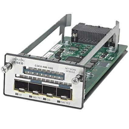 Cisco Catalyst C3KX-NM-10G 3K-X 10G-T Network Module