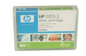 HP C5707A 4mm DDS-2 Backup Tape Cartridge (4GB/8GB Bulk Packing)