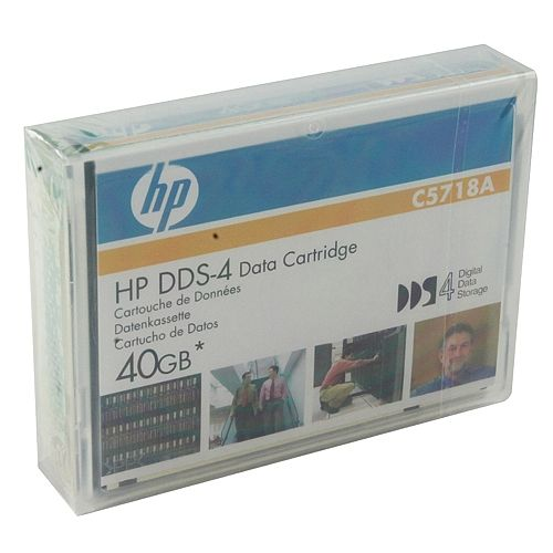 HP C5718A 4mm DDS-4 Backup Tape Cartridge (20GB/40GB)