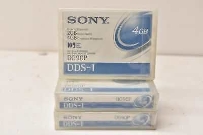 Sony DG90P 4mm DDS-1 Backup Tape Cartridge (2GB/4GB 90m Retail Pack)