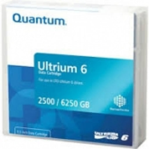 Quantum MR-L6MQN-03 LTO Ultrium 6 Tape Cartridge - 2.5TB/6.25TB (MP) (MR-L6MQN-01 Replacement)