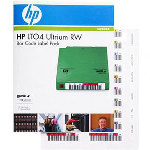 HP LTO-4 (RW) Barcode Labels Pack