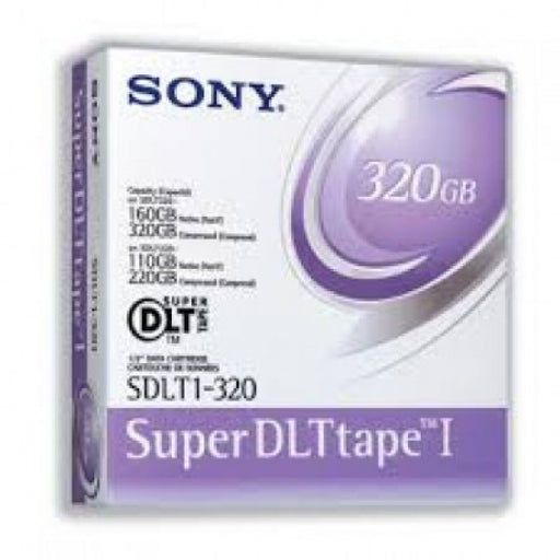 Sony SDLT-1 Backup Tape Cartridge(Bulk Pack) New 160/320 GB