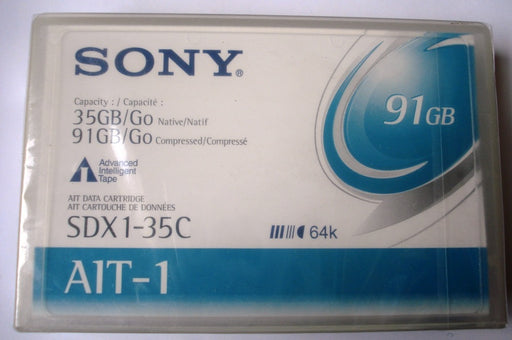 Sony SDX1-35C AIT-1 Backup Tape Cartridge (35GB/91GB Retail Pack)