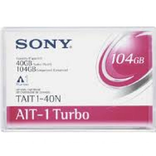 Sony TAIT1-40N AIT-1 Turbo Backup Tape Cartridge(40GB/104GB AME Retail Pack)
