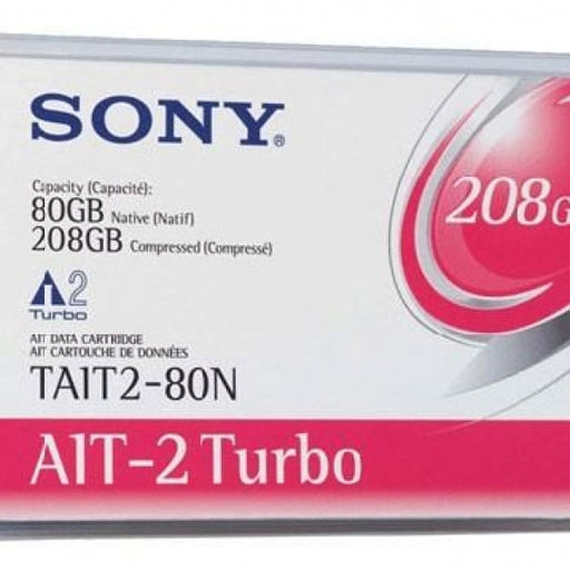 Sony TAIT2-80C AIT-2 Turbo Backup Tape Cartridge (80GB/208GB Retail Pack)