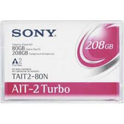 Sony TAIT2-80N AIT-2 Turbo Backup Tape Cartridge (80GB/208GB Retail Pack)