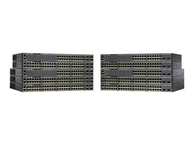 Cisco Catalyst WS-C2960X-24TD-L 2960-X 24 GigE, 2 x 10G SFP+, LAN Base