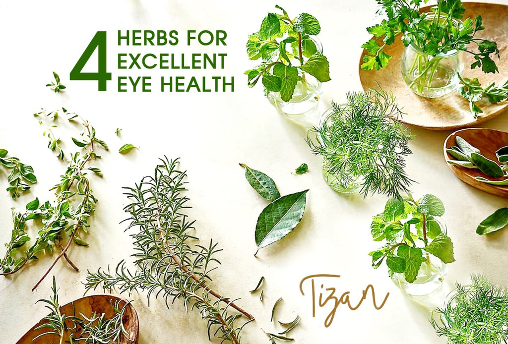 4 Herbs for Excellent Eye Health