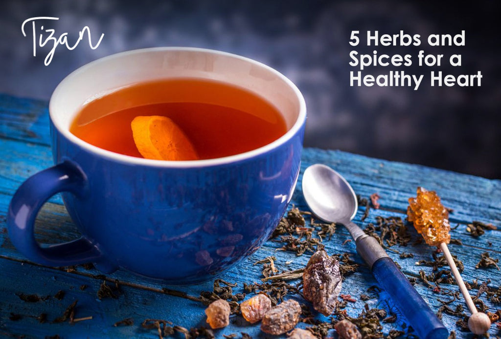 5 Herbs and Spices for a Healthy Heart