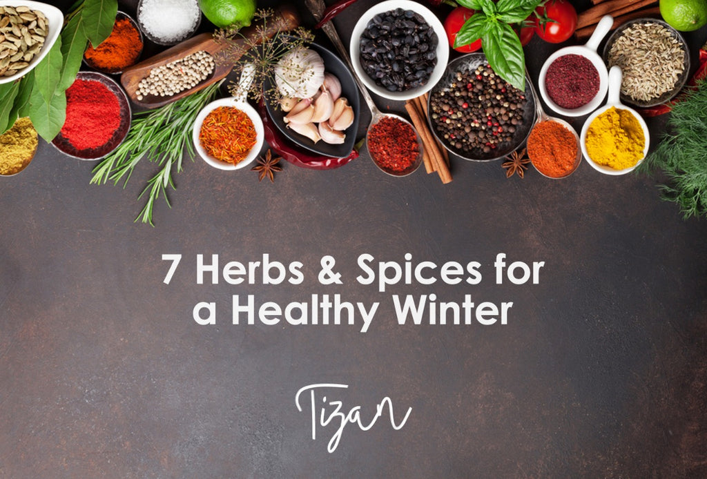 7 Herbs & Spices for A Healthy Winter