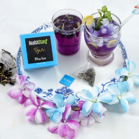 Blue Hue - Herbal Tea Infusion