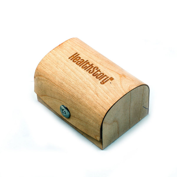 Wooden Curve Box