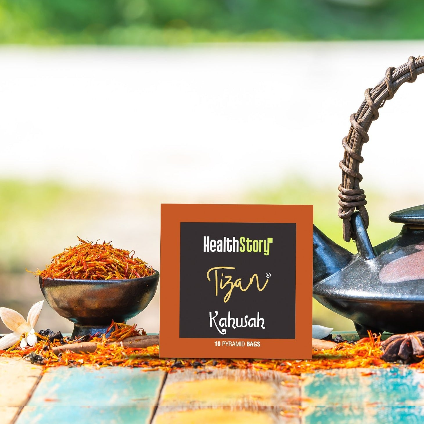 Kahwah - Herbal Tea Infusion