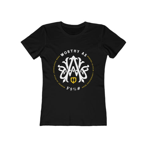 Gary V Worthy AF Circle Tee | Womens