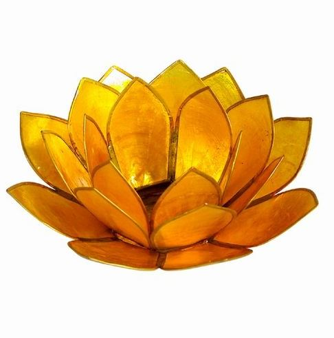 Pearl Lotus Tealight Holder - 12 Colors