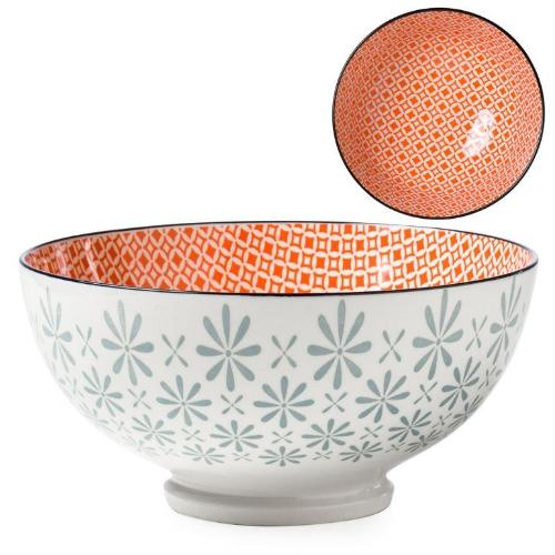 Kiri Porcelain Gerbera Diamond Bowl - 3 Sizes