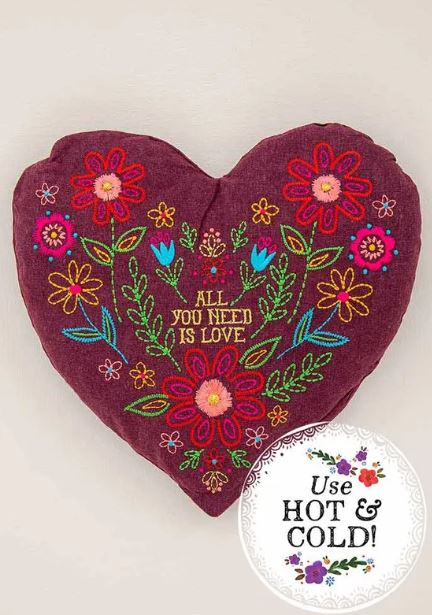 Happy Heart Heating Pad