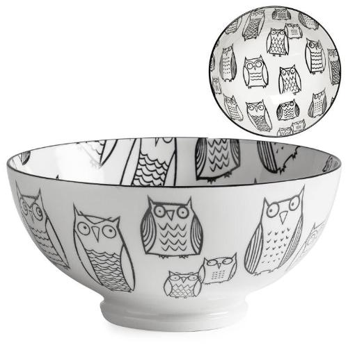 Kiri Porcelain Owl Bowl - 3 Sizes