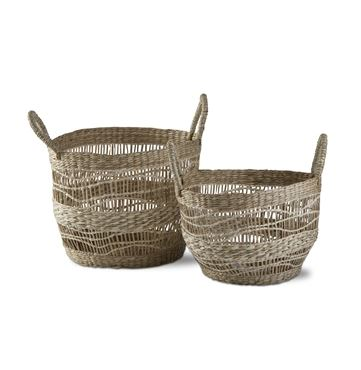 Airlee Seagrass Baskets - 2 Sizes