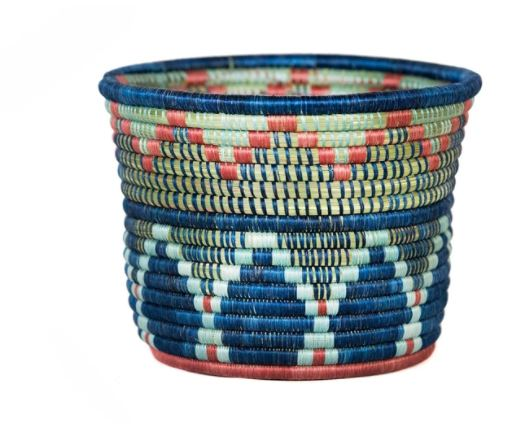 "7"" Blue Night Inzozi Tapered Planter"