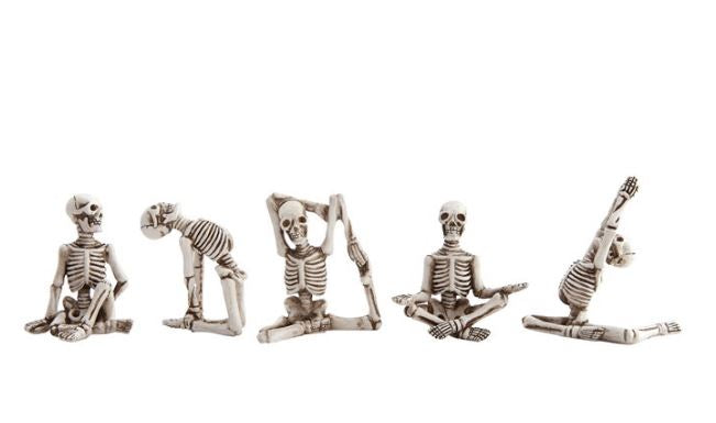Yoga Skeletons - 5 Styles