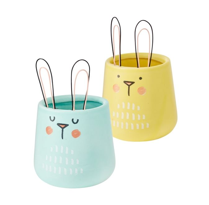 Sunny Bunny Pot - 2 Colors