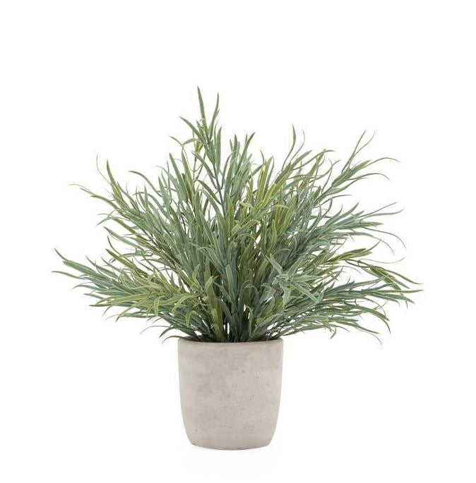 Lavender Potted Faux Plant