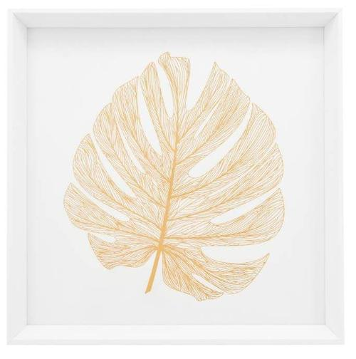 Gold Leaf Framed Canvas Print - 4 Styles