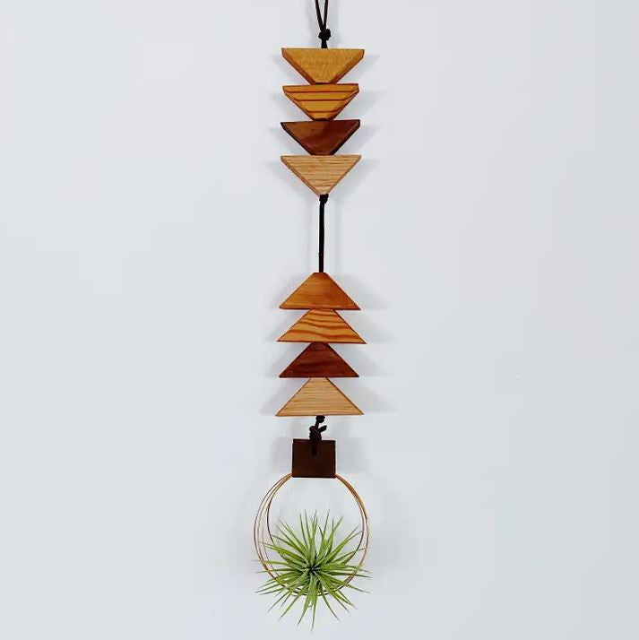 Air Plant Hanger - To the Earth, To the Sky