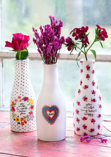 Cute Ceramic Vases - 3 Styles