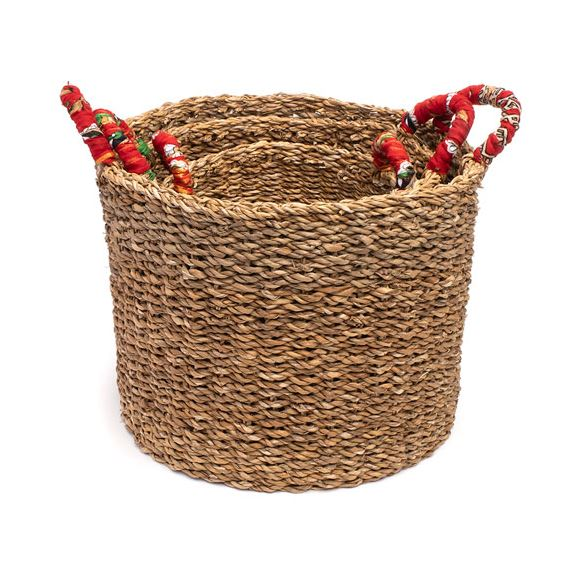 Sari Handle Baskets - 3 Sizes