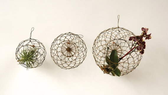 Round Wire Hanging Baskets - 3 Sizes