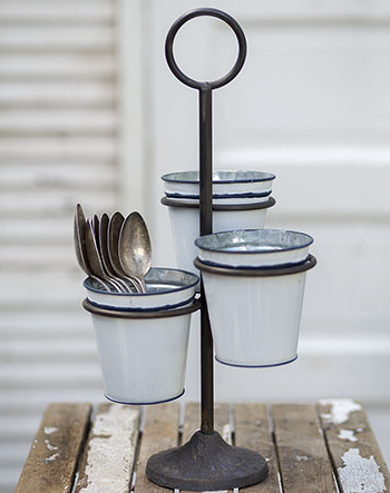 Three Bucket Stand