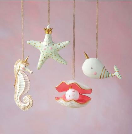 Sea Animal Ornaments - 4 Styles