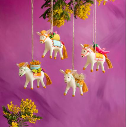 Busby the Burro & Friends Ornament - 4 Styles