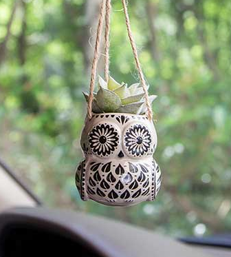 Mini Critter Faux Hanging Succulent - 6 Styles