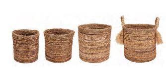 Banana Bark Baskets - 4 Sizes