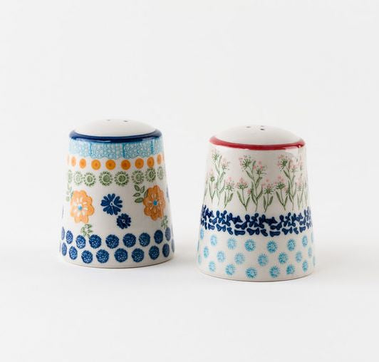 Chelsea Park Stoneware Salt & Pepper Shakers