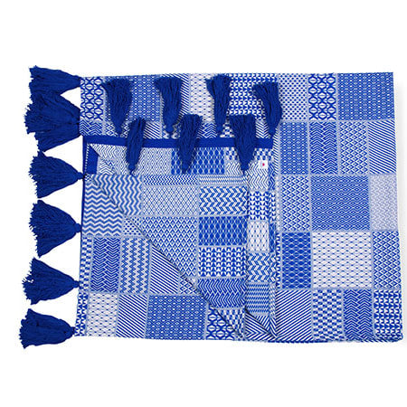 Eya Indigo Throw