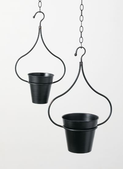 Metal Hanging Planter - 2 Sizes