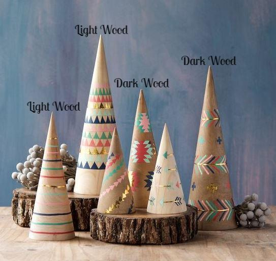 Set of 3 Adirondack Cones - 2 Colors