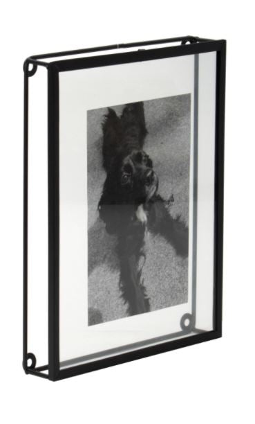 Oversized Floating Metal Picture Frame