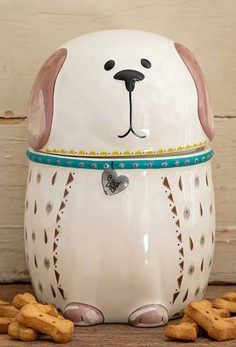 Ceramic Dog Cookie Jar