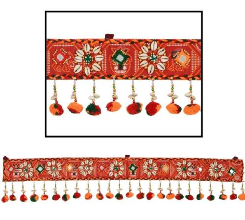 Hanging Toran Window Valance